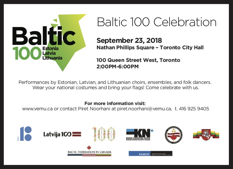 BALTIC 100 CELEBRATION