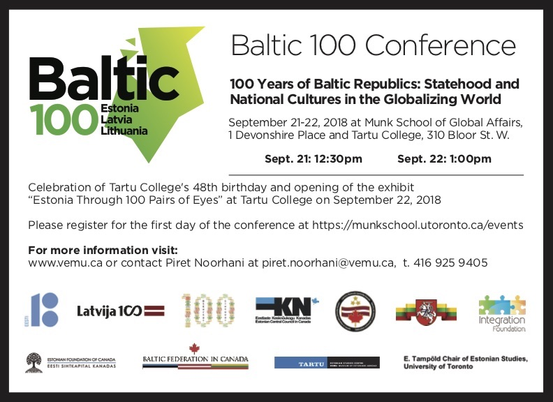 BALTIC 100 CONFERENCE