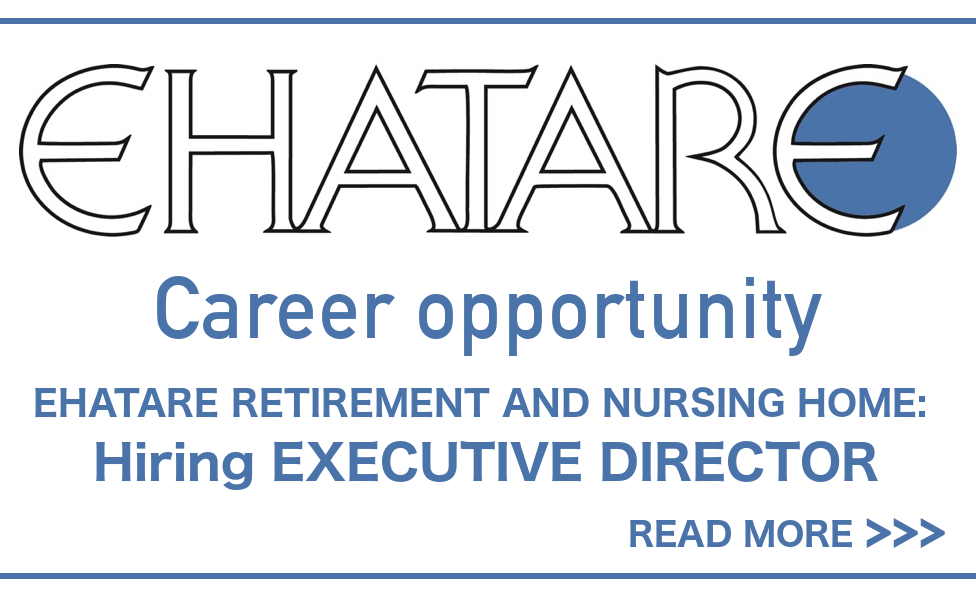 EHATARE Career opportunity 2020