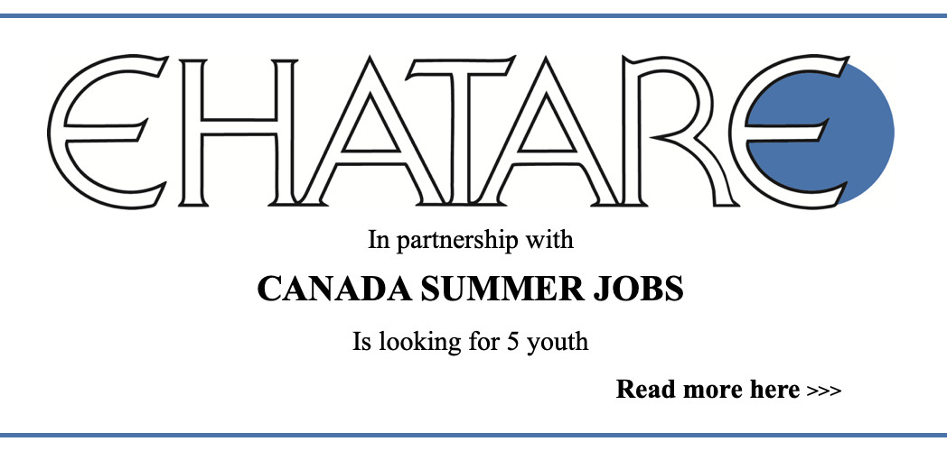 EHATARE SUMMER JOB 2020