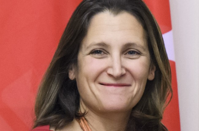Chrystia Freeland - photo: www.wikipedia.org (2017)