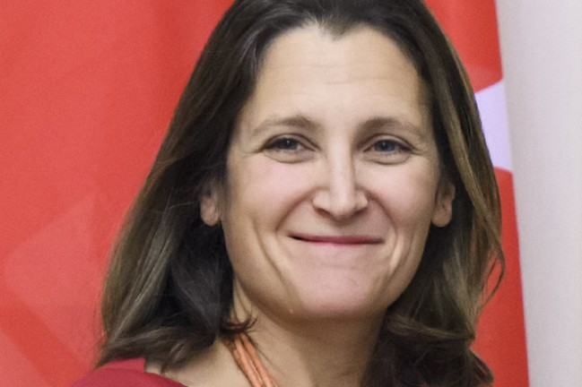 Chrystia Freeland (2017)