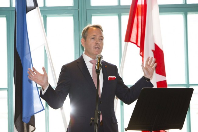 Kevin Rex, Ambassador of Canada to Estonia, Latvia and Lithuania (2019)