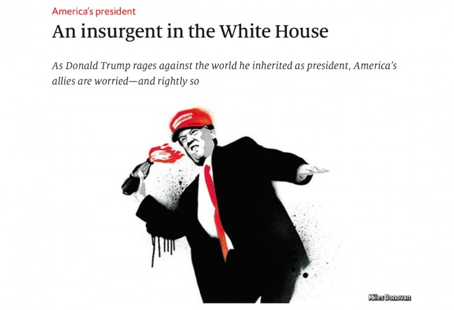 An insurgent in the White House - www.economist.com