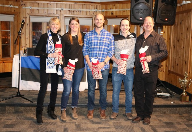 The organizers of the Esto Ski Days 2019 Aini Lee Maripuu, Marissa Karuks, Erik Must, Aleks Jõgi, Mikk Jõgi. Missing from photo Andrus Ers (2019)