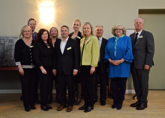 Boardmembers of Estonian Foundation of Canada (2018)