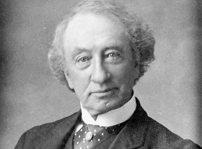 John A. Macdonald, Prime Minister of Canada, ca. 1875 by George Lancefield