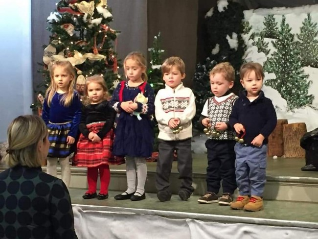 The youngest generation of Estonians in Hamilton.