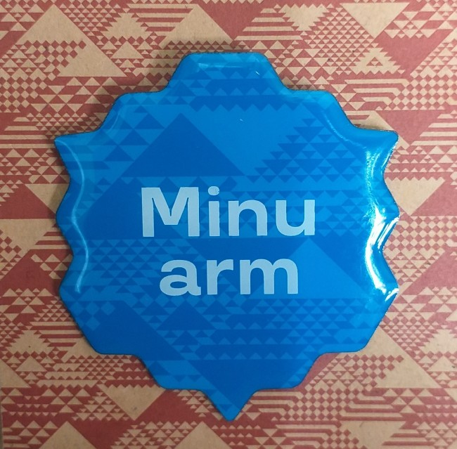 "*Minu arm* does not mean ""my arm"" (with which to latch onto your arm); it's short for *armastus* (love). Its sound is a bit less harsh than the Finnish equivalent *rakkaus*, but who says love is always gentle and sweet? *Armastus jätab tihti armi* – love often leaves a scar. It's quite ironic and symbolic that the other meaning of the word *arm* in Estonian is scar. Photo: Riina Kindlam (2019)"