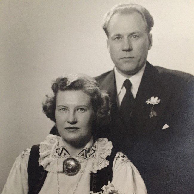 Meinhard and Selma Põldma