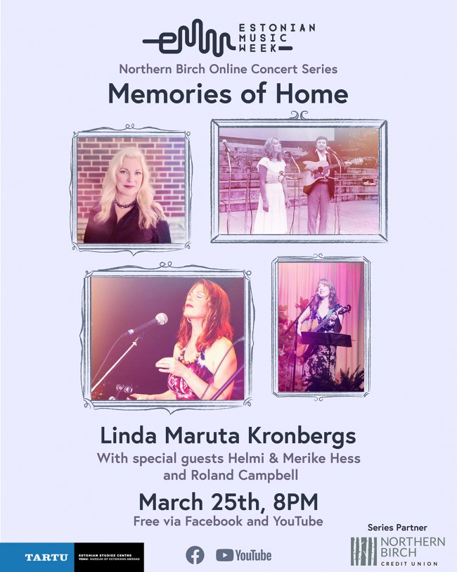 Photo: Poster created by Laani Heinar, using photos from Linda Maruta Kronbergs' photo collection.