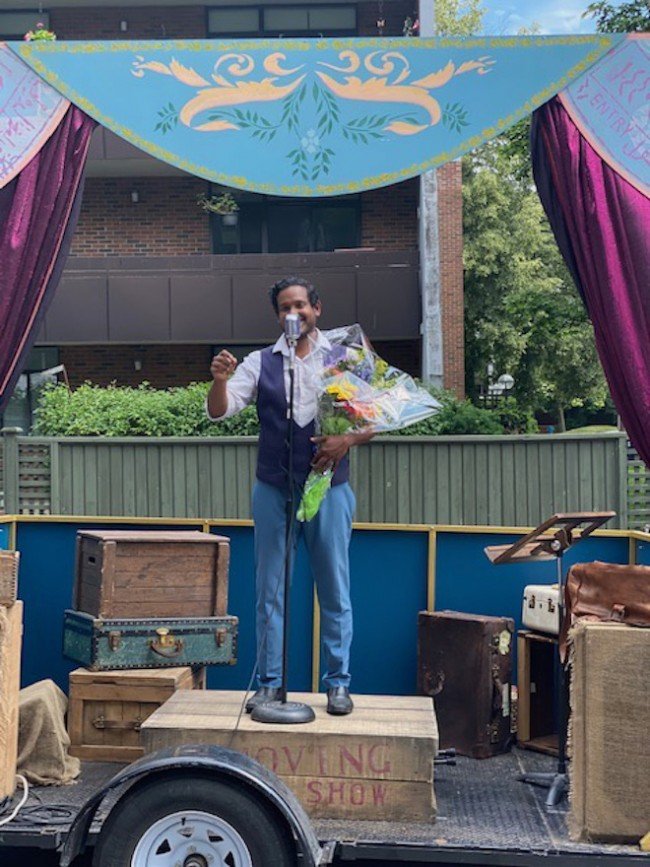 Recently a mobile opera performed for Ehatare residents!