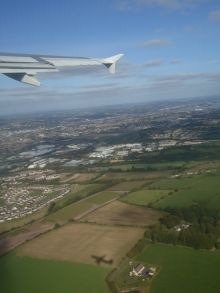 Kaarin - Farewell Ireland! Flying to London to begin backpacking