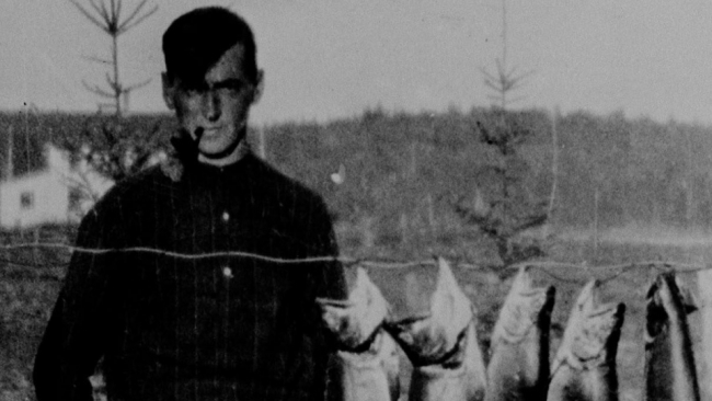 Tom Thomson - foto: Blair Laing / National Archives of Canada (1914)