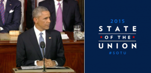 President Barack Obama reassures small NATO nations in his State of the Union address - VIDEO!