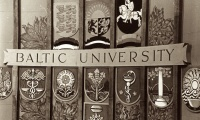 The conference The Story of the Baltic University (1946-1949). Adventure and struggle