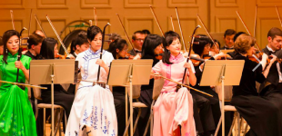 The Shen Yun Symphony Orchestra, Falun Gong, performs at the Roy Thompson Hall
