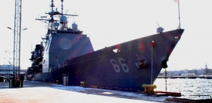 PHOTOS - US NAVY: USS Hue City Arrives in Tallinn