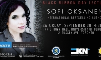 Sofi Oksanen: Black Ribbon Day Lecture