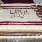 Celebration of the 100th anniversary of the Declaration of Independence of the Republic of Latvia