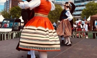 Pillerkaar dances at the NATO Festival in Norfolk, Virginia - 28 April 2018