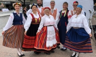 Pillerkaar danced at the third annual Around the World Cultural Food Festival - 8-18-18