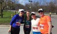 PHOTOS - The Speed Sisters at Toronto Marathon Relay