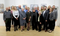 Lt. Governor of Ontario, the Rt. Hon Elizabeth Dowdeswell visited art exhibit of the Society of Estonian Artists in Toronto
