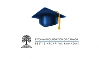 Supporting Canadian-Estonian Students, enriching our community EFC Scholarship Deadline – October 1