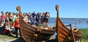 Hand-crafted wooden boats from Nõva