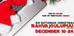 Rahvajõulupuu/An Estonian Christmas goes Online!