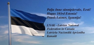 Congratulations on Estonia's Birthday!