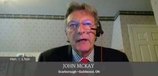VIDEO - MP John McKay statement House of Commonsis