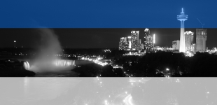 Niagara Falls to be lit blue, black and white for Estonian Independence Day